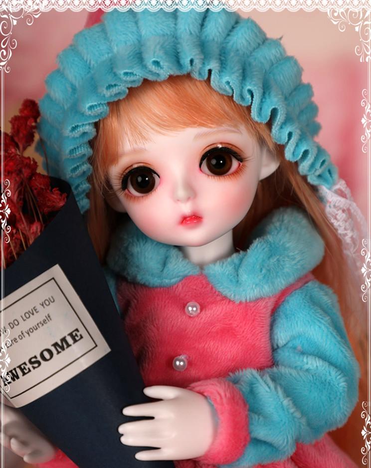 ドール本体 Miu 女の子 BJD人形 SD人形 1/6サイズ 人形ボディ製品図1