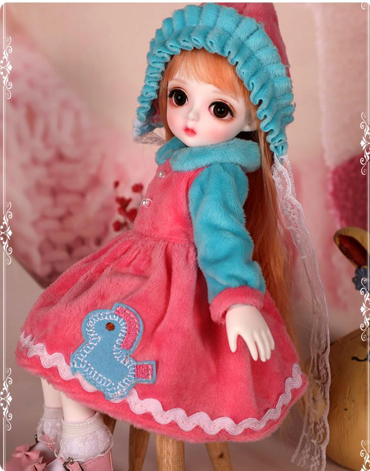 ドール本体 Miu 女の子 BJD人形 SD人形 1/6サイズ 人形ボディ製品図2