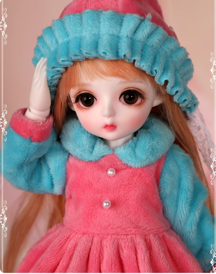 ドール本体 Miu 女の子 BJD人形 SD人形 1/6サイズ 人形ボディ製品図3