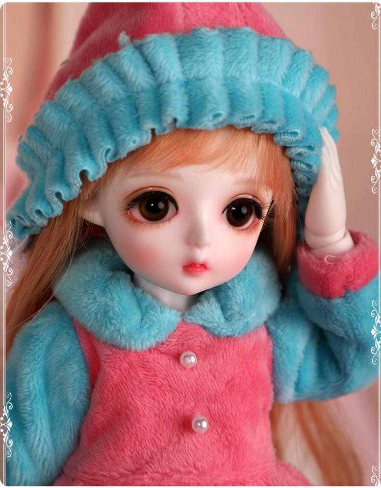ドール本体 Miu 女の子 BJD人形 SD人形 1/6サイズ 人形ボディ製品図4