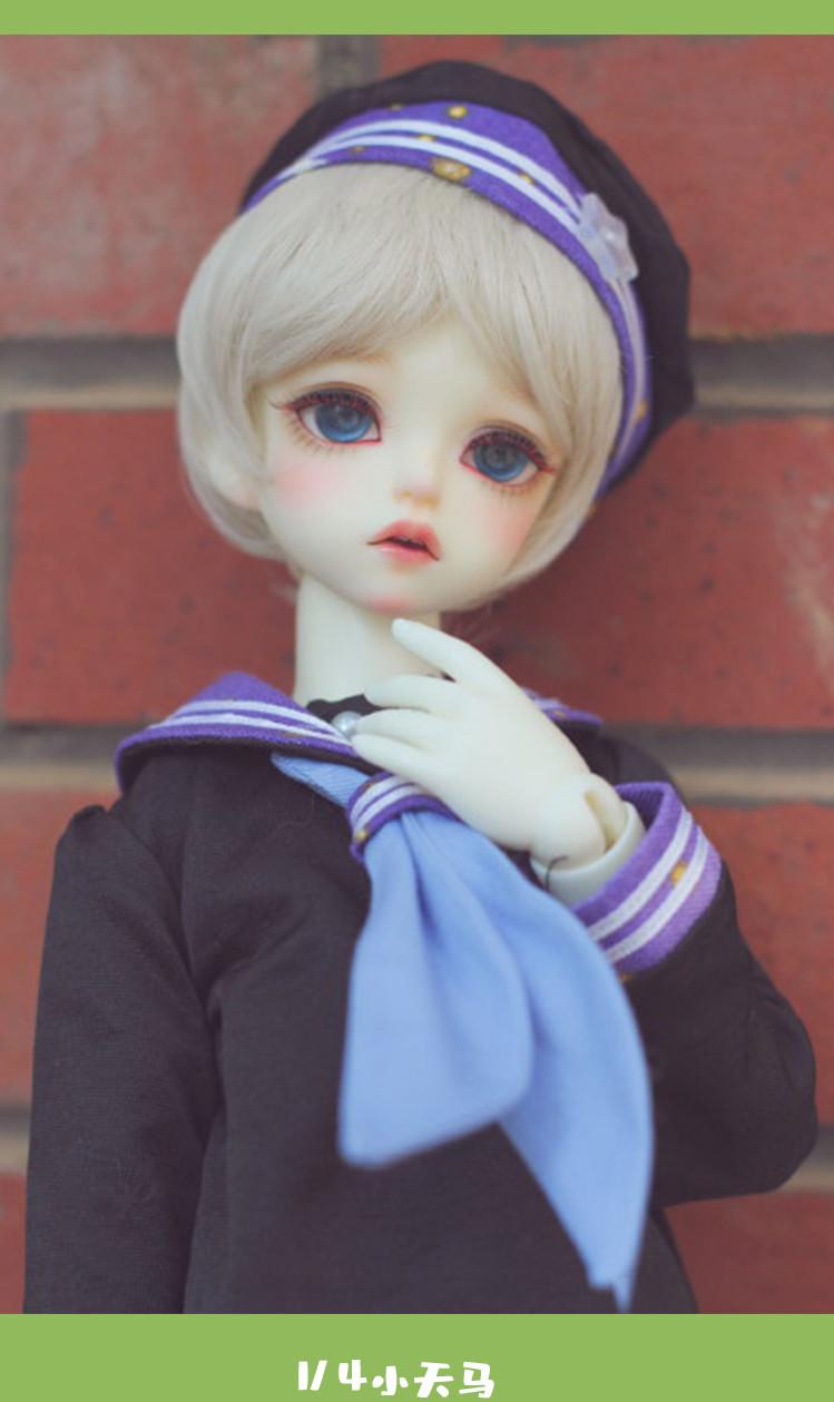 ドール本体 Shale 小天马 男の子 BJD人形 SD人形 1/4サイズ 人形ボディ製品図6