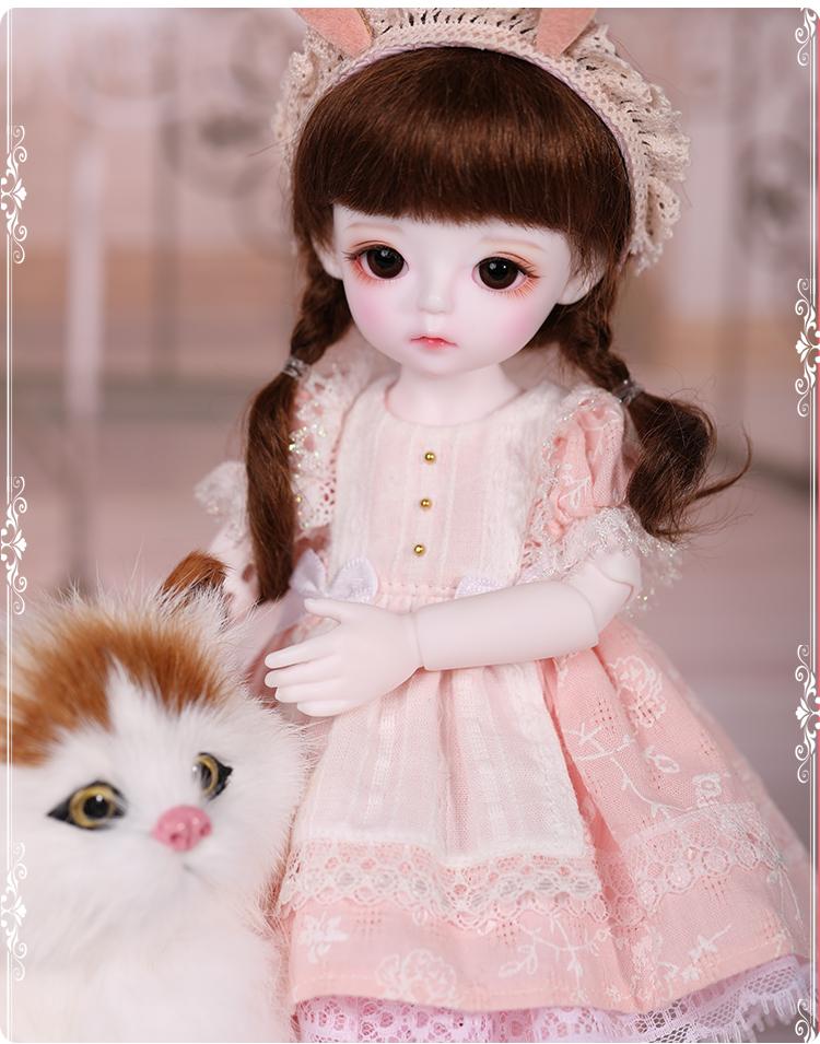 ドール本体 Cream 女の子 BJD人形 SD人形 1/6サイズ 人形ボディ製品図3