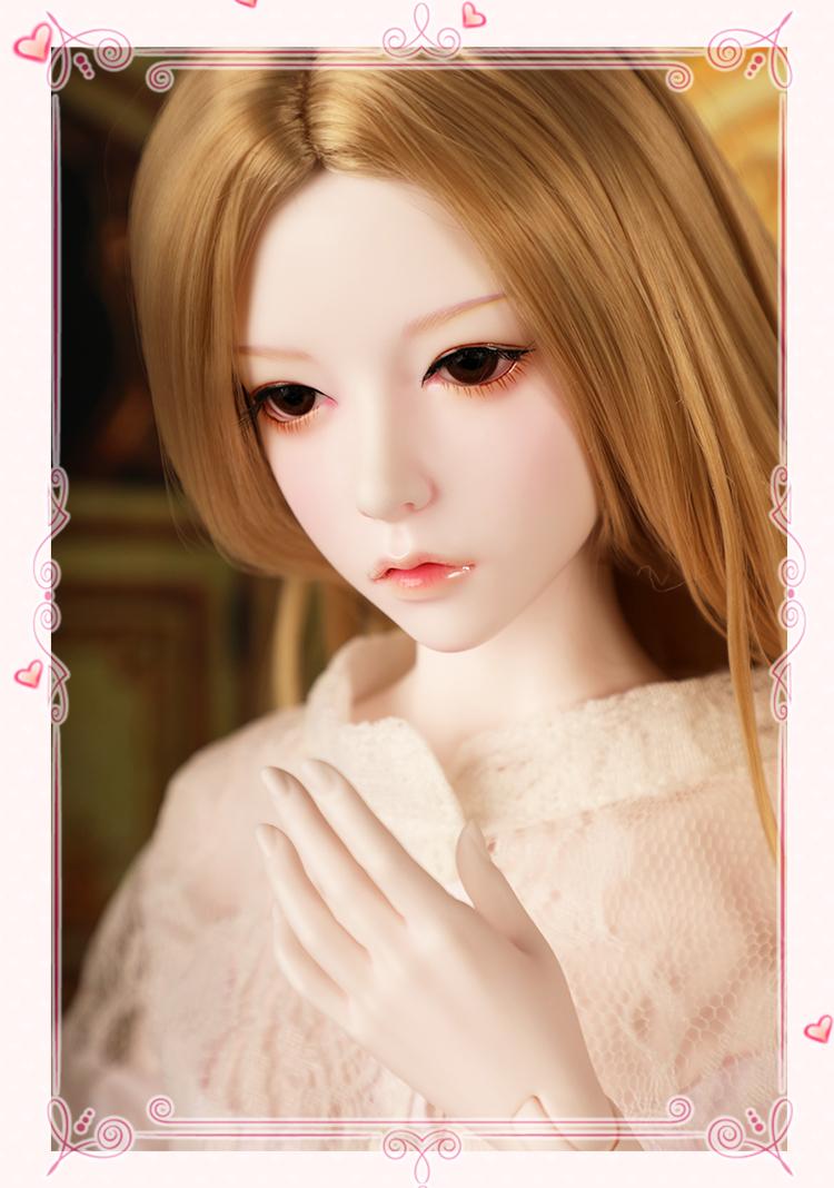 ドール本体 SOO 大女 BJD人形 SD人形 1/3サイズ 人形ボディ製品図2