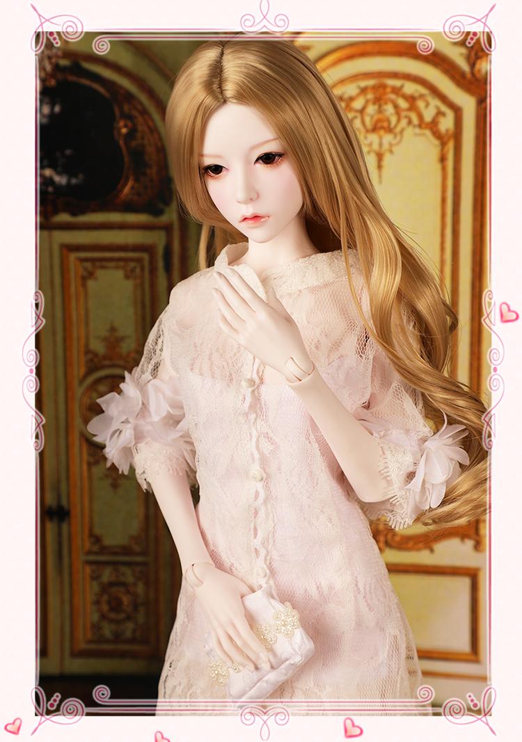 ドール本体 SOO 大女 BJD人形 SD人形 1/3サイズ 人形ボディ製品図3