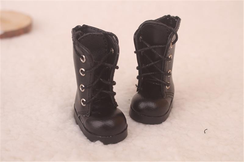 Bjd靴 ドール靴 可愛い長靴 ピンク黒 人形靴 1/6 単独で購入できない製品図2