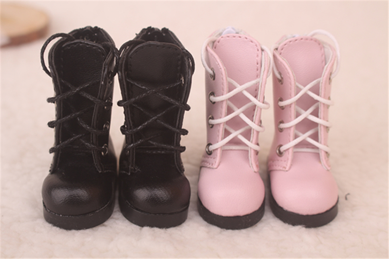Bjd靴 ドール靴 可愛い長靴 ピンク黒 人形靴 1/6 単独で購入できない製品図3