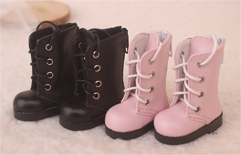 Bjd靴 ドール靴 可愛い長靴 ピンク黒 人形靴 1/6 単独で購入できない製品図4