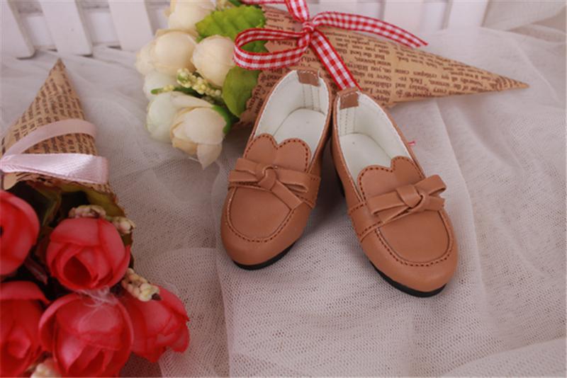 Bjd靴 ドール靴 蝶結びモカシン 人形靴 1/4 単独で購入できない製品図1