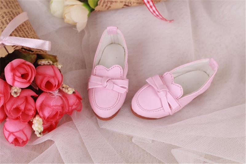 Bjd靴 ドール靴 蝶結びモカシン 人形靴 1/4 単独で購入できない製品図2