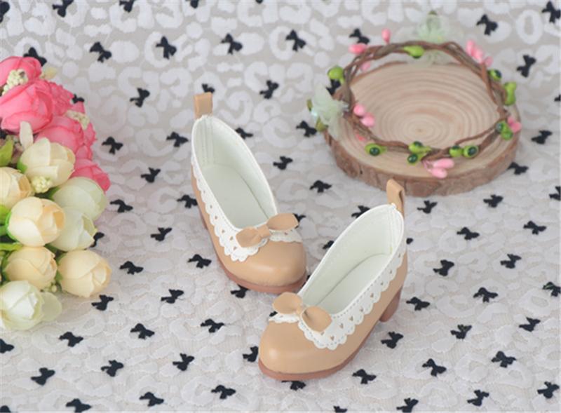 Bjd靴 ドール靴 蝶結び ロリータ 人形靴 1/3 1/4 単独で購入できない製品図1