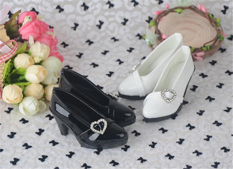 Bjd靴 ドール靴 心の形 ハイヒール 人形靴 1/3 単独で購入できない製品図3