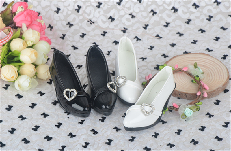 Bjd靴 ドール靴 心の形 ハイヒール 人形靴 1/3 単独で購入できない製品図4