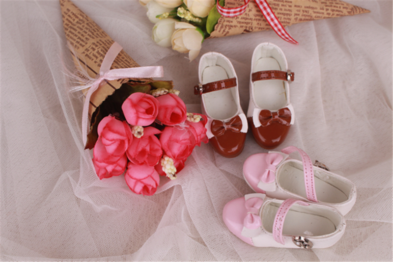 Bjd靴 ドール靴 蝶結び靴 人形靴 1/3 単独で購入できない製品図1
