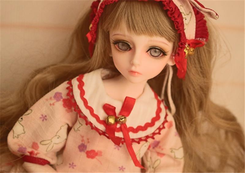 人形ウィッグ BJDウィッグ 黄色 巻き髪 1/4 単独で購入できない製品図1