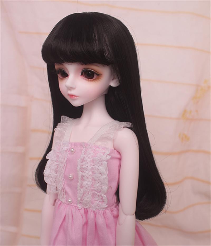 人形ウィッグ BJDウィッグ 浅金色 微々巻き髪 1/4 単独で購入できない製品図3