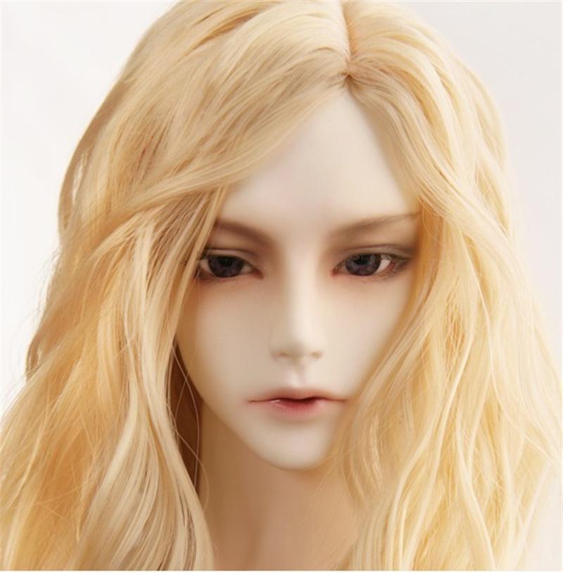 人形ウィッグ BJDウィッグ 吸血鬼 微々巻き髪 1/3 単独で購入できない製品図1