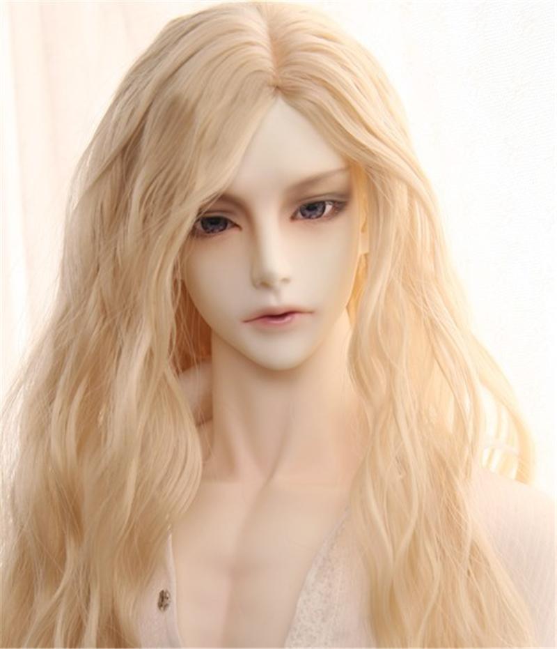 人形ウィッグ BJDウィッグ 吸血鬼 微々巻き髪 1/3 単独で購入できない製品図2