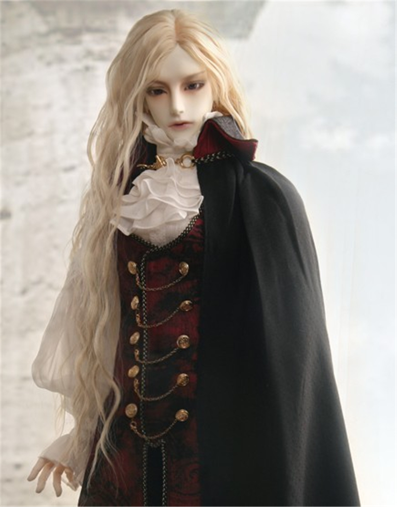 人形ウィッグ BJDウィッグ 吸血鬼 微々巻き髪 1/3 単独で購入できない製品図4