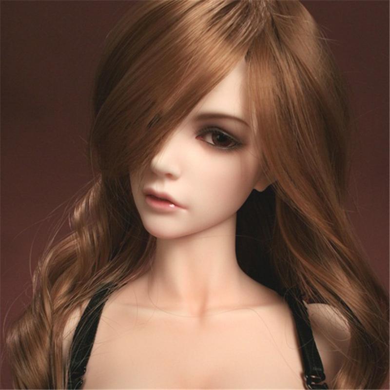 人形ウィッグ BJDウィッグ Jessica 長巻き髪 1/3 単独で購入できない製品図1