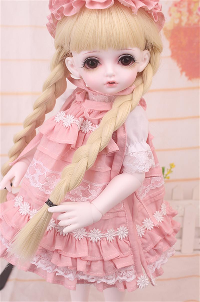 ドール衣装 bambi 巨児 ピンクスーツBJD衣装 1/4 サイズが注文できる製品図9