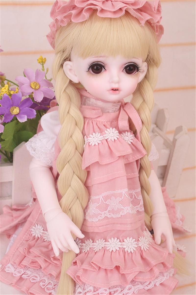 ドール衣装 bambi 巨児 ピンクスーツBJD衣装 1/4 サイズが注文できる製品図2