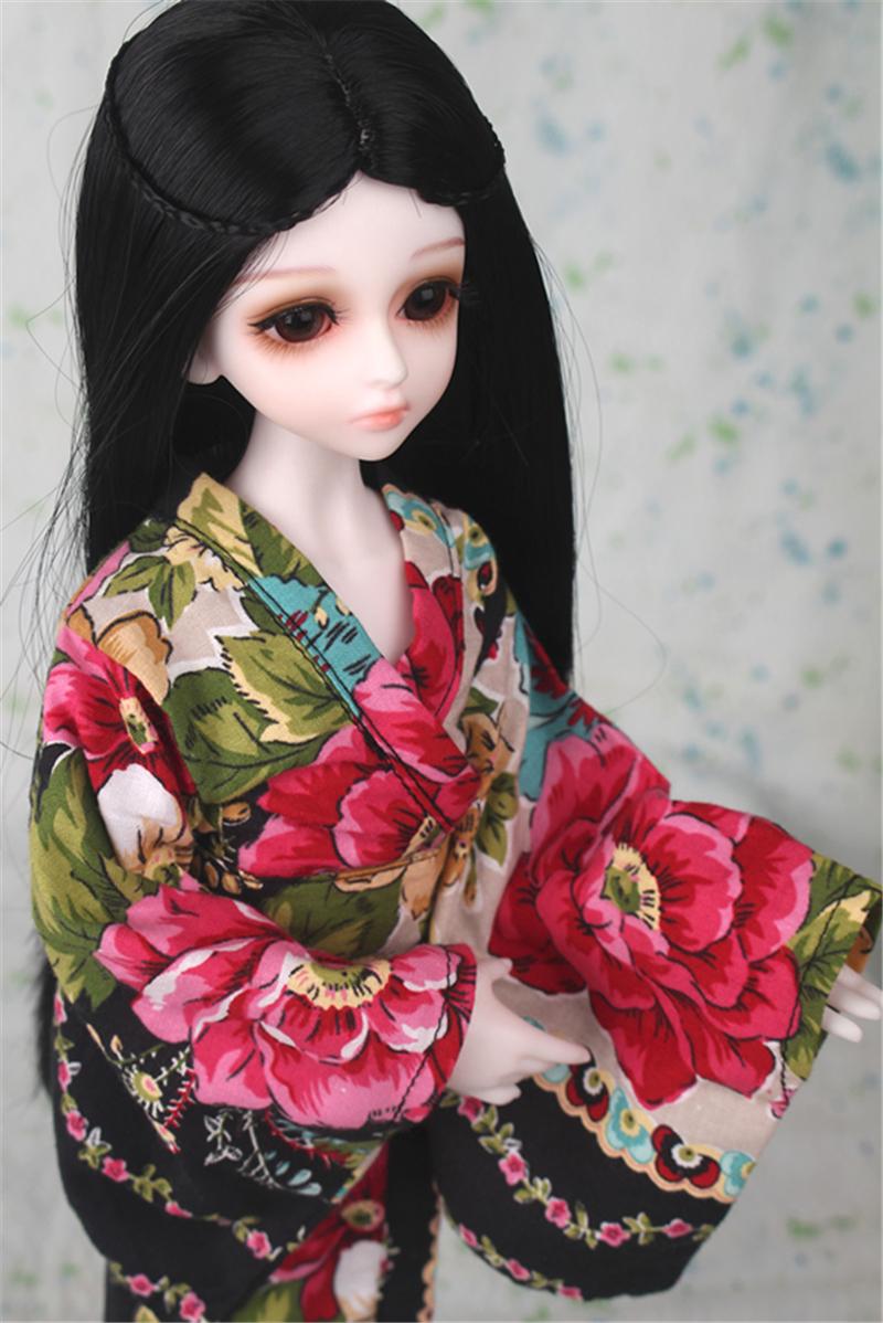 ドール衣装 日本風 和服 BJD衣装 1/3 1/4 1/6 サイズが注文できる製品図6