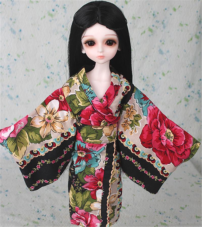 ドール衣装 日本風 和服 BJD衣装 1/3 1/4 1/6 サイズが注文できる製品図9