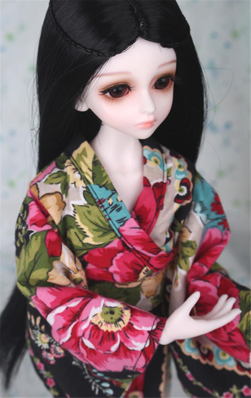 ドール衣装 日本風 和服 BJD衣装 1/3 1/4 1/6 サイズが注文できる製品図1