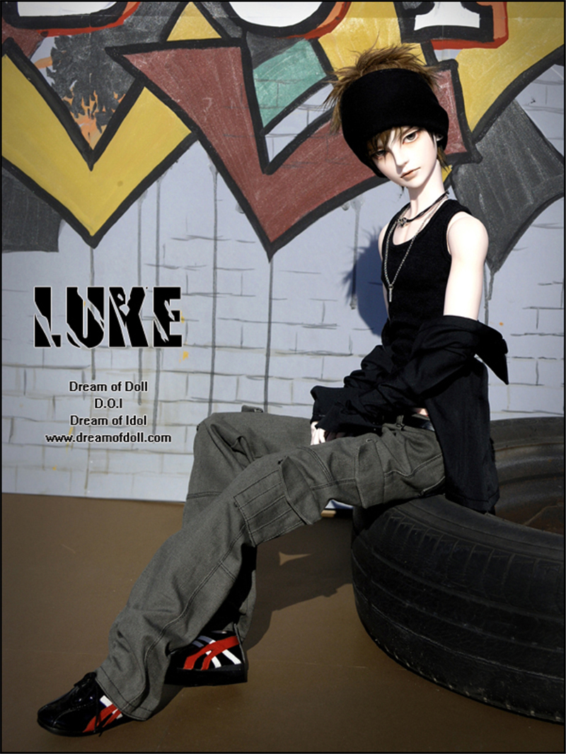ドール本体 LUKE-CRUSH  男子 BJD人形 SD人形 1/3製品図4
