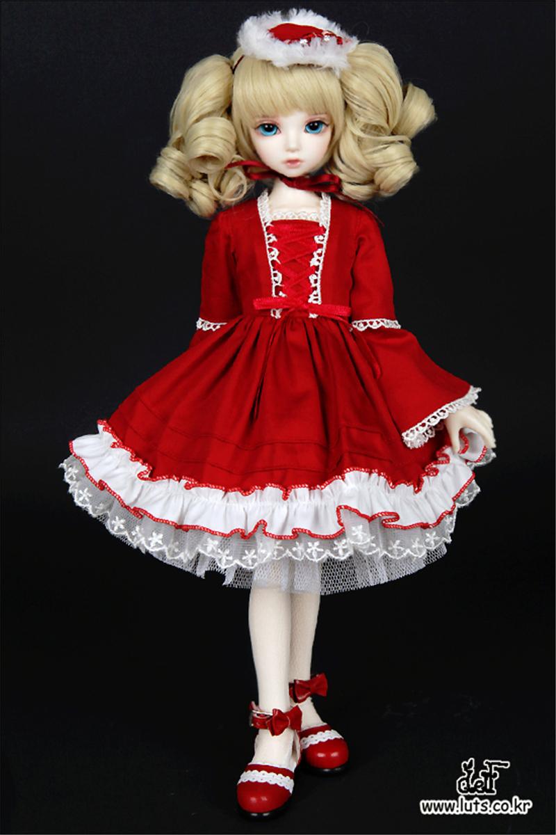 ドール本体 Kid Delf KIWI BJD人形 SD人形 1/4製品図1