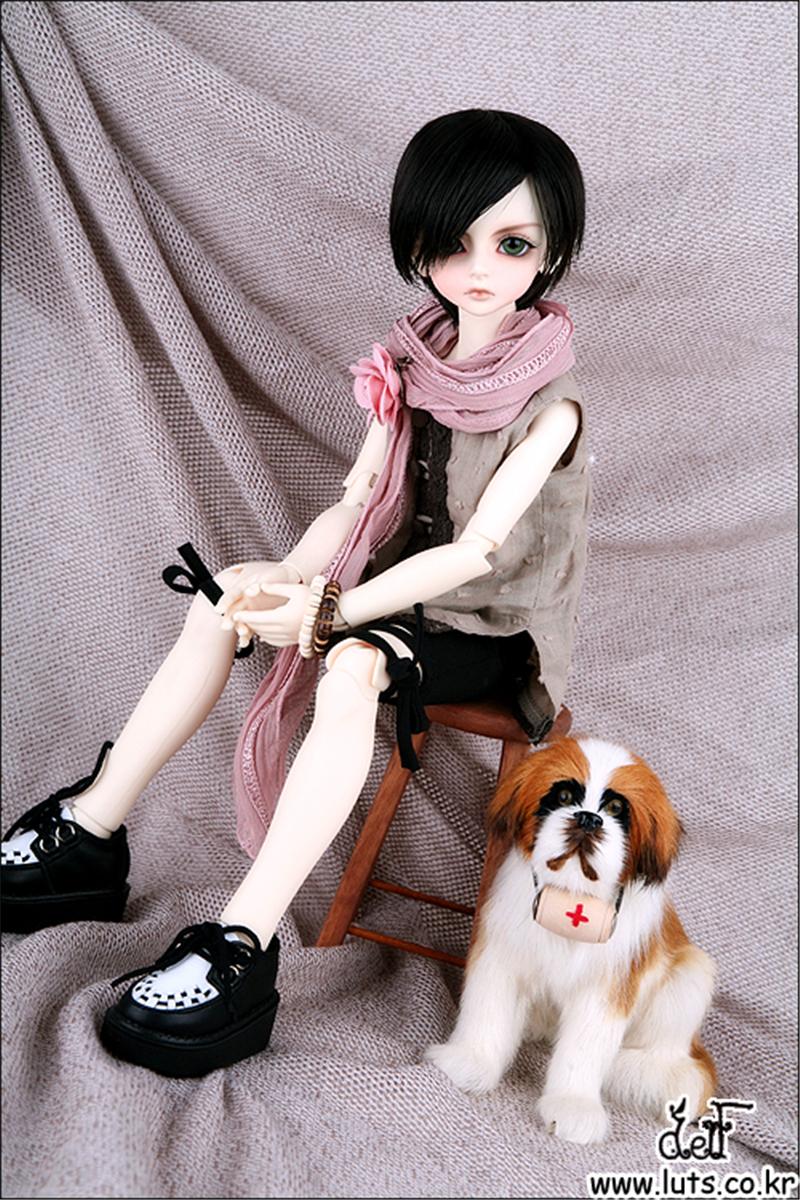 ドール本体 LUTS Kid Delf Boy BORY BJD人形 SD人形 1/4製品図5