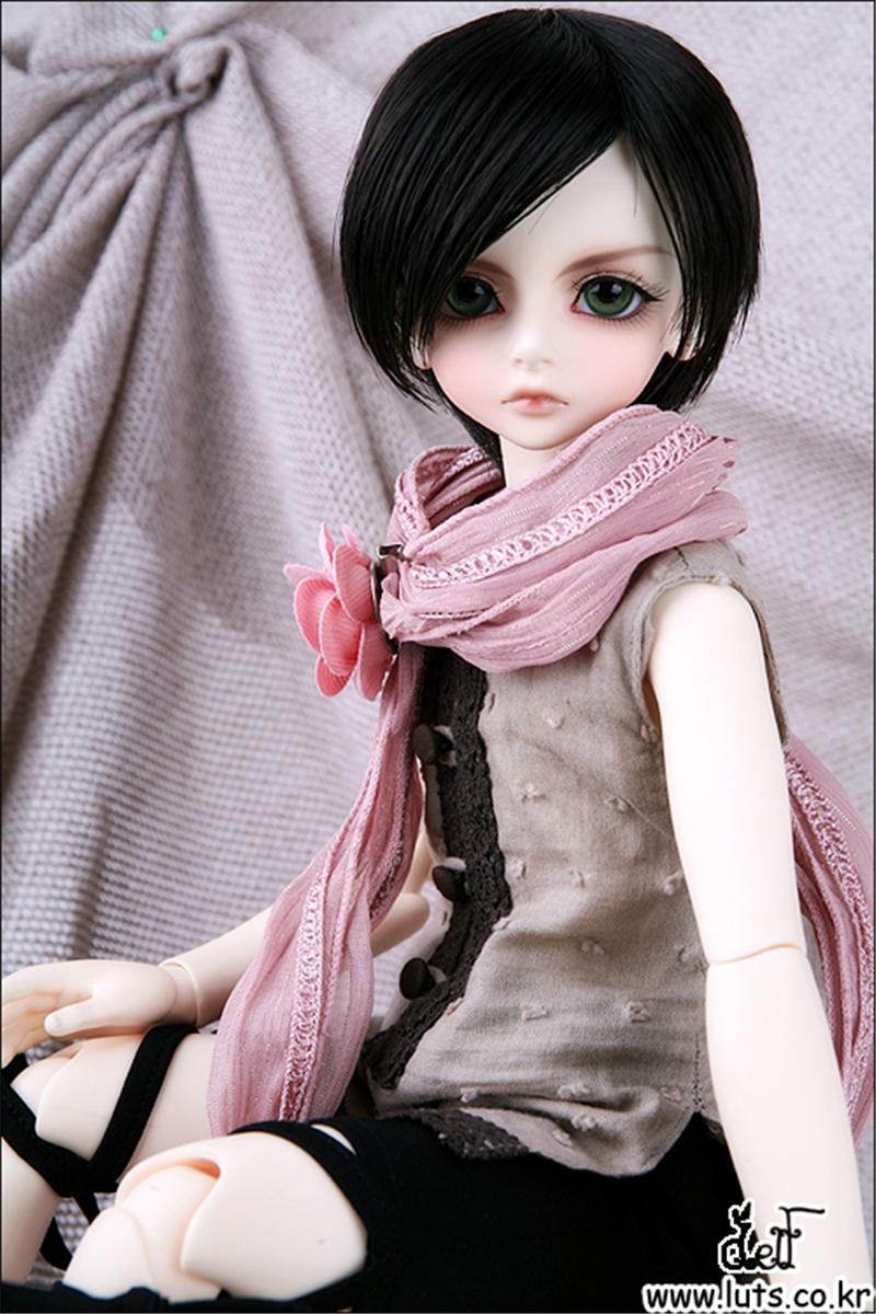 ドール本体 LUTS Kid Delf Boy BORY BJD人形 SD人形 1/4製品図3