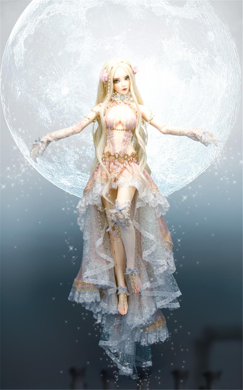 ドール本体 Chloe Elf feeple FL BORY 65cm BJD人形 SD人形 1/3製品図5