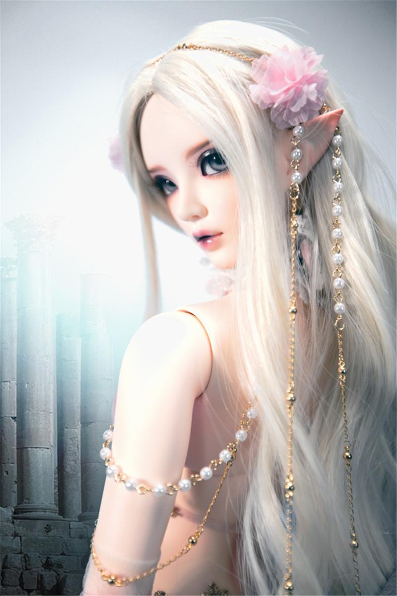 ドール本体 Chloe Elf feeple FL BORY 65cm BJD人形 SD人形 1/3製品図2