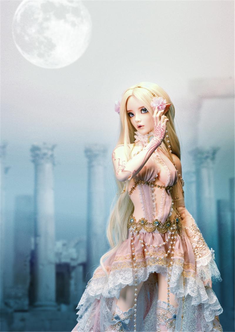 ドール本体 Chloe Elf feeple FL BORY 65cm BJD人形 SD人形 1/3製品図3