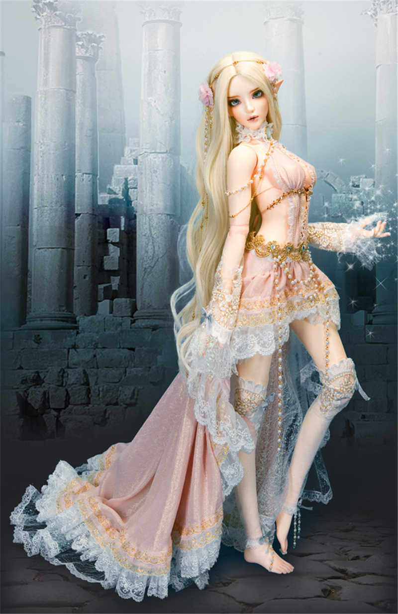 ドール本体 Chloe Elf feeple FL BORY 65cm BJD人形 SD人形 1/3製品図4