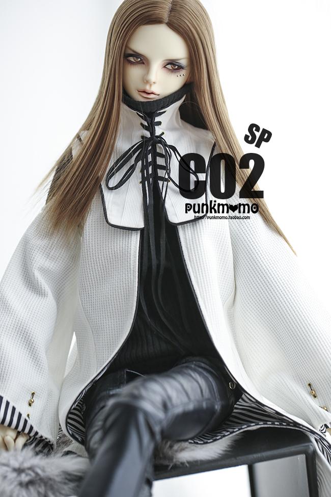 ドール用ウィッグ 人形ウィッグ 1/3サイズ  BJD SD 銀色/金色あり製品図5