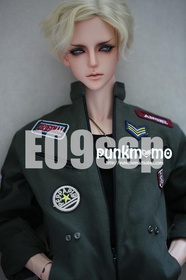 ドール用ウィッグ 人形ウィッグ 1/3サイズ  BJD SD 金色/銀色/黒色あり製品図4