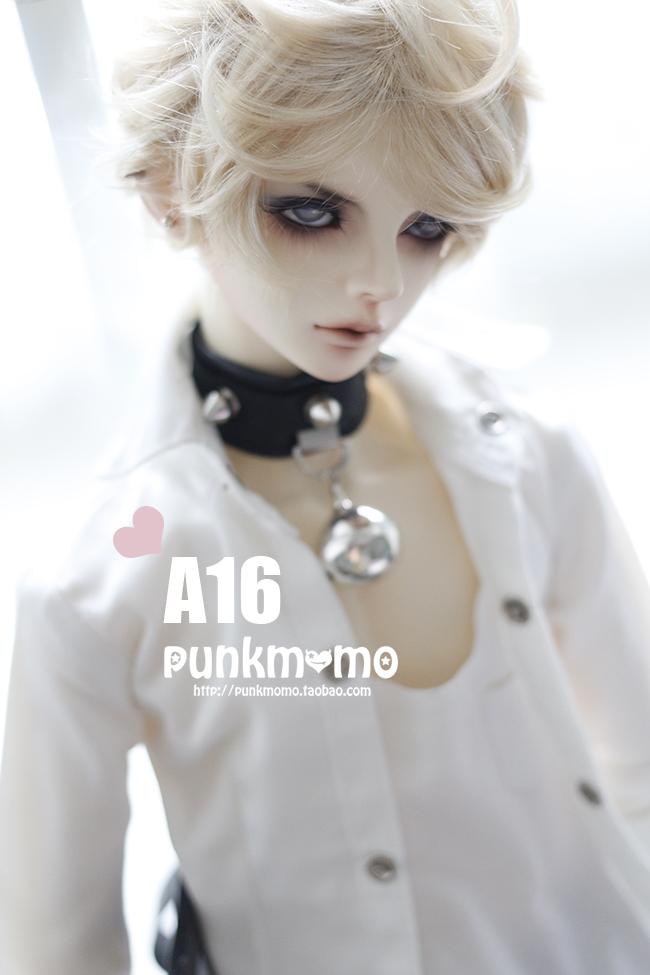 ドール用ウィッグ 人形ウィッグ 1/3サイズ  BJD SD ブラウン/グレー/金色あり製品図3