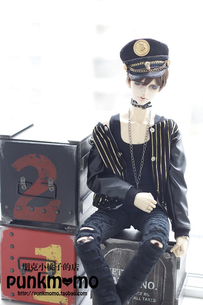 ドール用ウィッグ 人形ウィッグ 1/3サイズ  BJD SD 黒色あり製品図3