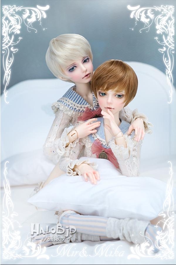 ドール本体 minifee mika 男の子 BJD人形 SD人形 1/4サイズ 人形ボディ製品図6
