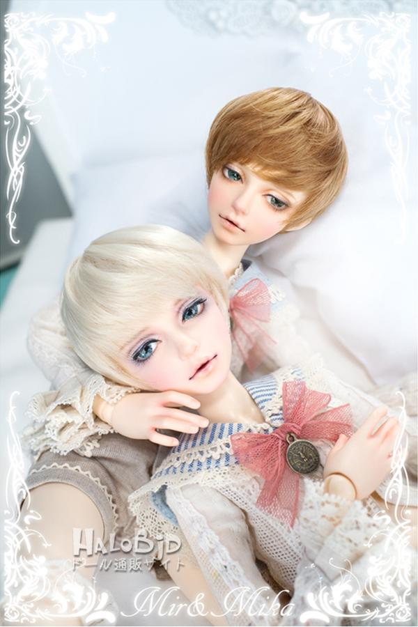 ドール本体 minifee mika 男の子 BJD人形 SD人形 1/4サイズ 人形ボディ製品図2