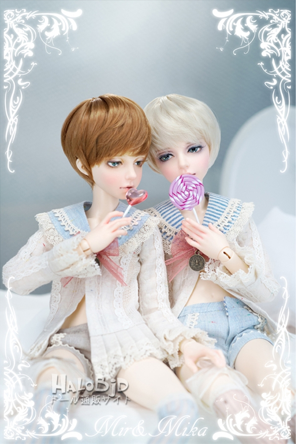 ドール本体 minifee mika 男の子 BJD人形 SD人形 1/4サイズ 人形ボディ製品図3