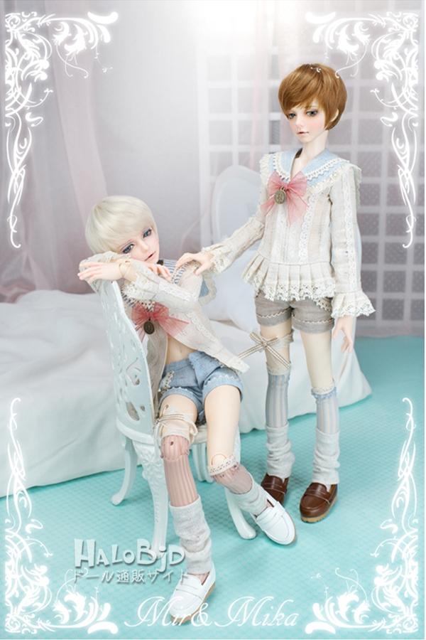 ドール本体 minifee mika 男の子 BJD人形 SD人形 1/4サイズ 人形ボディ製品図4
