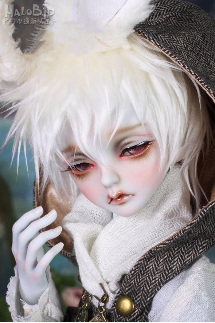 ドール本体 peaks woods pw 白ウサギ FOC LE White Rabbit 男の子 BJD人形 SD人形 1/3サイズ 人形ボディ製品図1
