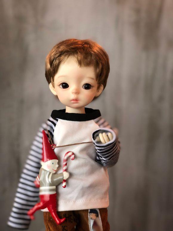 ドール本体 soo yosd 男女 BJD人形 SD人形 1/6サイズ 人形ボディ製品図3