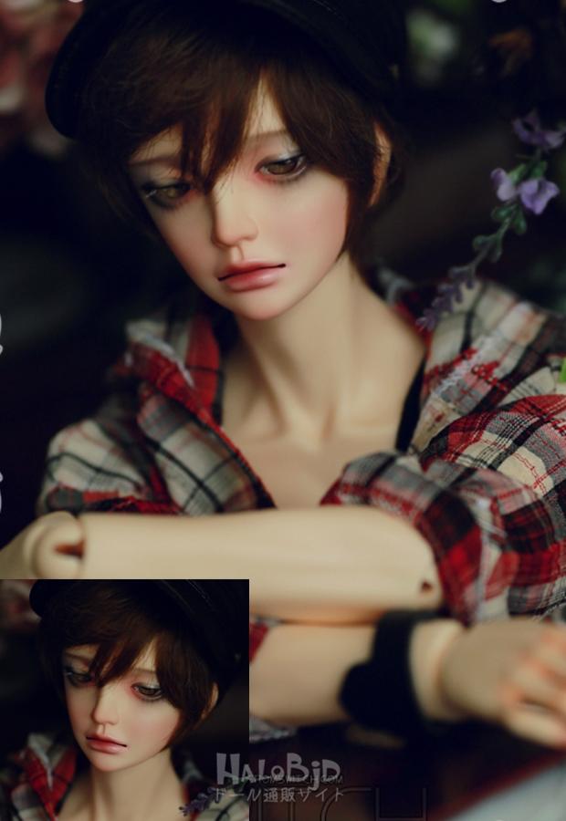ドール本体 Switch MILHWA SNG 男の子 BJD人形 SD人形 1/3サイズ 人形ボディ製品図2