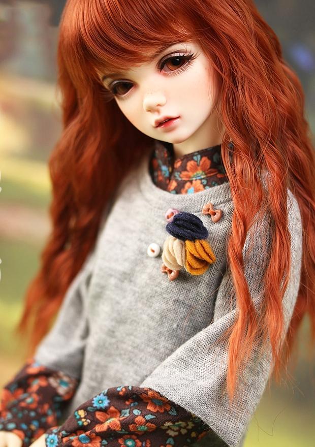 ドール本体 IP AMY 女の子 BJD人形 SD人形 1/4サイズ 人形ボディ製品図5