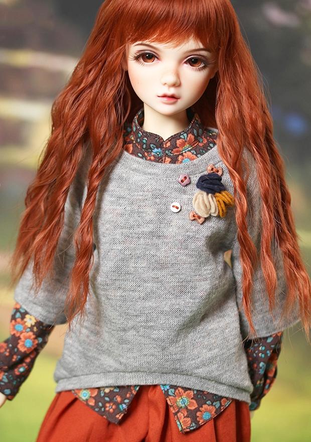 ドール本体 IP AMY 女の子 BJD人形 SD人形 1/4サイズ 人形ボディ製品図6