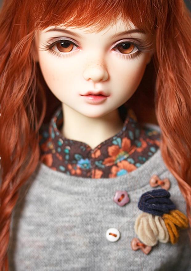 ドール本体 IP AMY 女の子 BJD人形 SD人形 1/4サイズ 人形ボディ製品図2